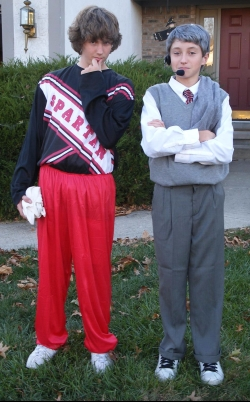 Halloween Co-parenting Coach Tressel Costume
